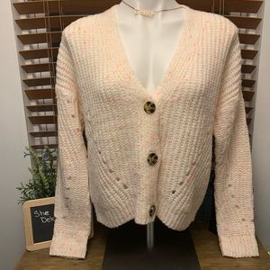 Ivory and colors Cardigan sweater
